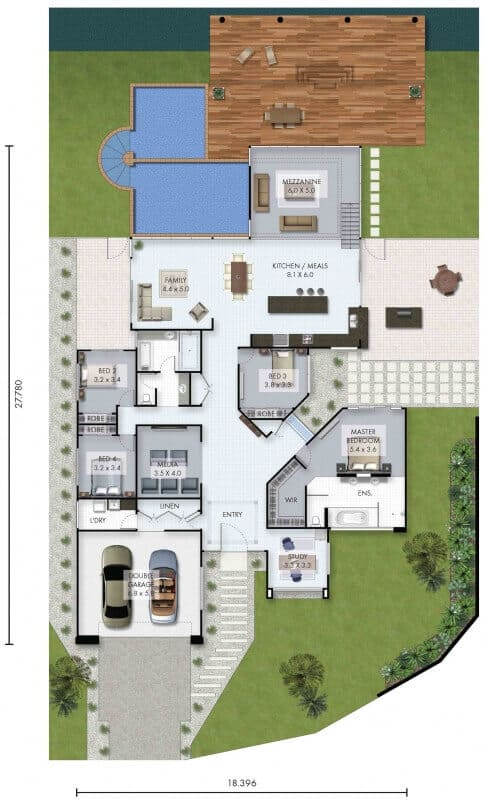 Baja david reid homes for David homes floor plans