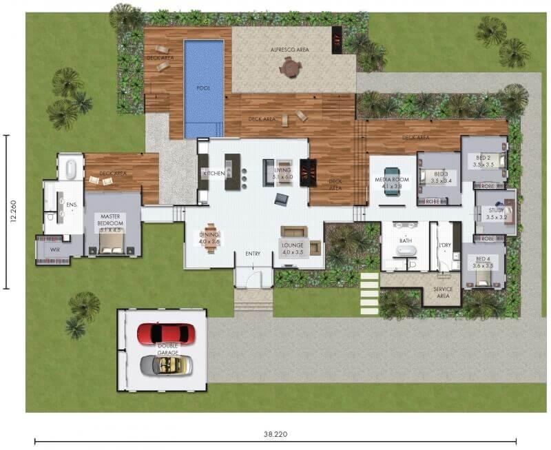 Flynt david reid homes for David homes floor plans