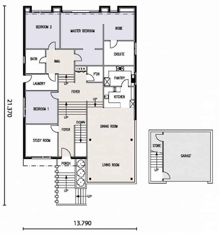 Shearwater david reid homes for David homes floor plans