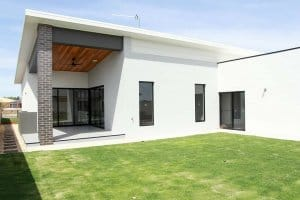 Shepparton luxury display home Exterior