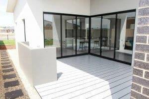 Shepparton luxury display home alfresco