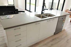 Shepparton luxury display home kitchen sink