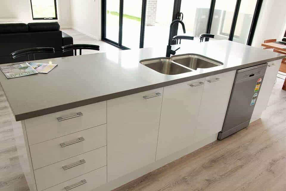 Shepparton luxury display home kitchen sink