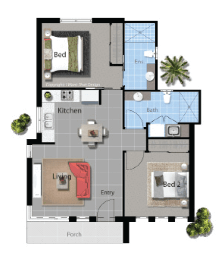 Parker contemporary david reid homes for Parker house designs